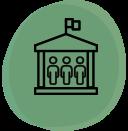 Pictogramme des organisations d'intérêt général